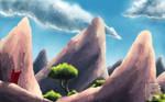 Tsingy Mena - The Small Observer by Erkhyan
