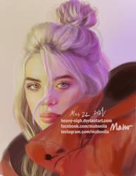 Billie Eilish by Heavy-Sigh