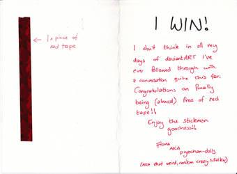 The Winner Pt 2 by martypunker