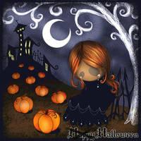 Lonely Halloween by Tingilinde