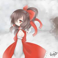 Hakurei Reimu by nechin