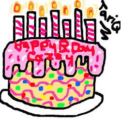Happy Birthday Caz/Diuky!! :D by TariqJohnson