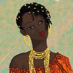 Beaute d'Afrique by BonbonVert