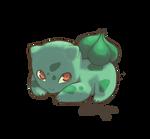 Bulbasaur by gingerbreadcat