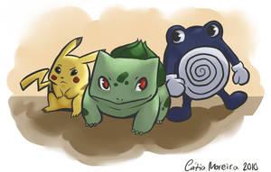 Pokemon Adventures fanart by gingerbreadcat