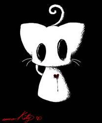 emo Kitty by Vitamin-Emo