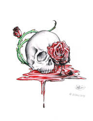 Beauty In Death, Death In Beauty by Vitamin-Emo