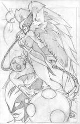 Hawk Girl 2 by nctorres