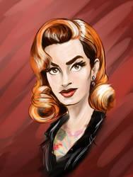 Portrait Sketch Day 5 by InkBurstStudios