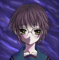 Nagato Yuki - Smile by Icesplendor