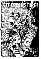 Judge Dredd Pin-up by JonniO