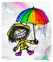 RainbowHappyWinterGirl by xbooshbabyx