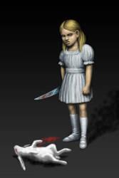White Rabbit by UrsHagen