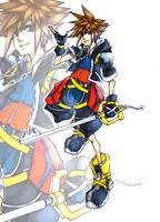Sora Kingdom Hearts by Shodeku