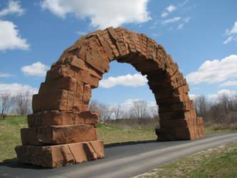 Rock Arch 1 by ItsAllStock