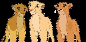 My Lion King OC's by Lyra-Elante
