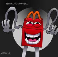 I'm A HAPPY Meal by laser000111