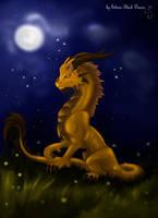 Moon by Silvera-Black-Demon