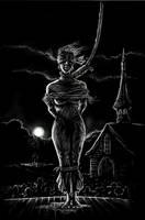 Frankenstein -- Justine is Hanged for Murder by mgkellermeyer
