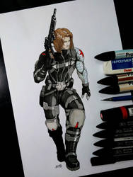 Bucky Barnes - Winter Soldier final! by Magnafires