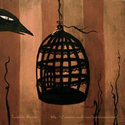 L'oiseau noir by missdine