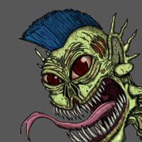 Monster Punk by djneckspasm