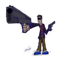 Drama Gun by djneckspasm