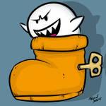 Boo In A Shoe by djneckspasm