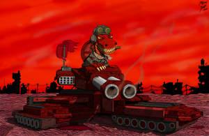 Commander Komodo by djneckspasm