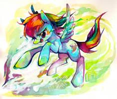 Rainbowing by Mi-eau