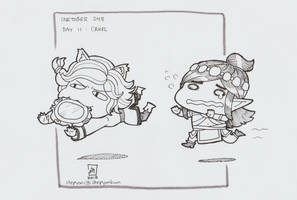 Maeve and Ying, Paladins by stephenc94
