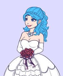Evie in Wedding Dress, Paladins by stephenc94