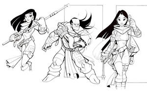 personajes by ratonviejo