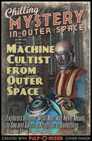 Machine Cultist From Outer Space by TheWonderingSword