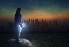 Light in a dark world by kevron2001