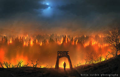 Pride goes before destruction by kevron2001