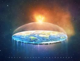 Flat Earth by kevron2001