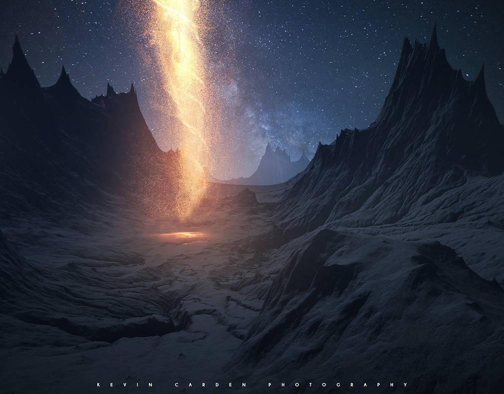 Звёздное небо и космос в картинках - Страница 9 The_pillar_of_fire_by_kevron2001_dcvuq4q-pre