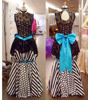Ball gown costume by funkyfunnybone