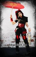 Gothic jester dolly by funkyfunnybone