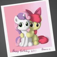 Happy Birthday, Sweetie Belle! by Eternyan