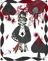 2 of Spades by elinnia