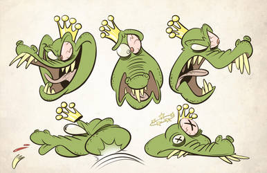 King K. Rool Expressions by Baron-Von-Jello
