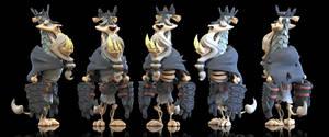 King Ryan 3D (Final) by Baron-Von-Jello
