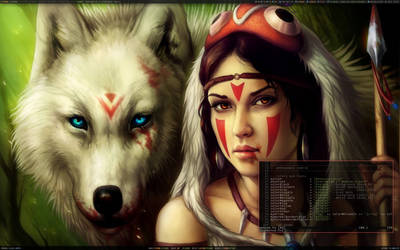 Wolf xmonad by samirkahvedzic