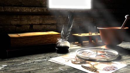 Alchemist's Den by samirkahvedzic