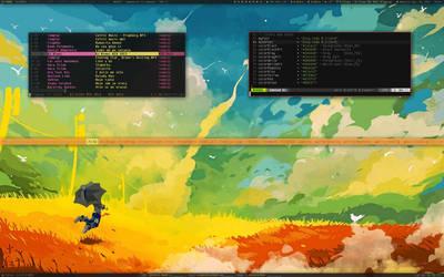 Beautiful Day Xmonad by samirkahvedzic