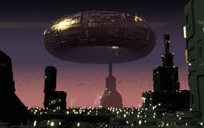 Alien World by samirkahvedzic