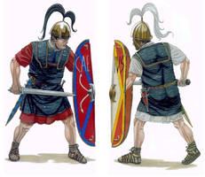 Caesar vs Pompeius by AMELIANVS