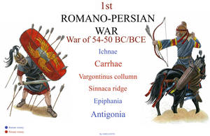1st Romano-Persian war by AMELIANVS
